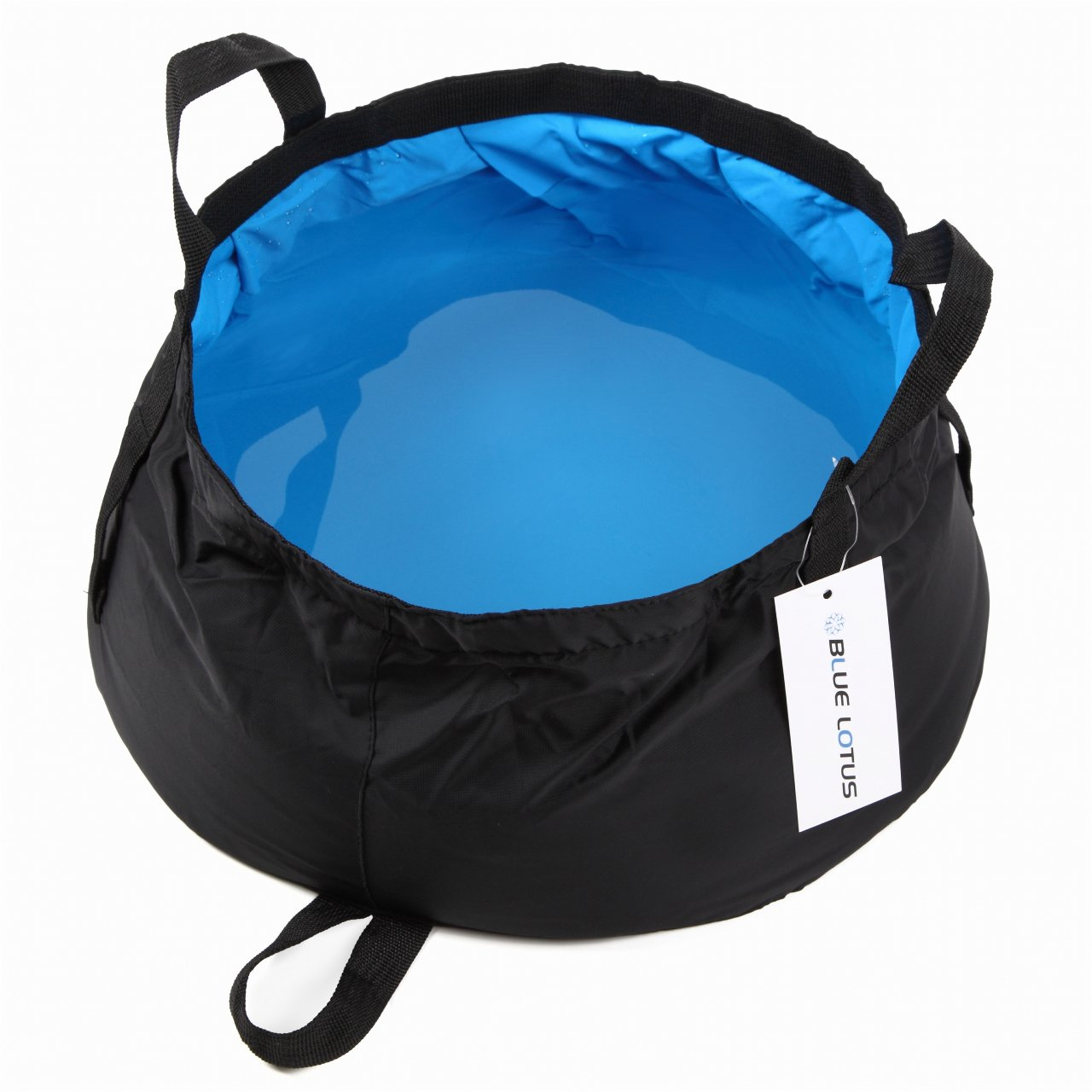 BLUELOTUS Ultralight Portable Foldable Bucket 12L