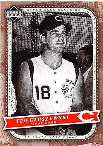 Ted Kluszewski baseball card (Cincinnati Reds All Star) 2005 Upper Deck Classics #88 ()
