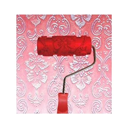 Black Temptation Embossed Paint Roller Wall Painting Runner Wall Decor Diy Tool Pattern 19
