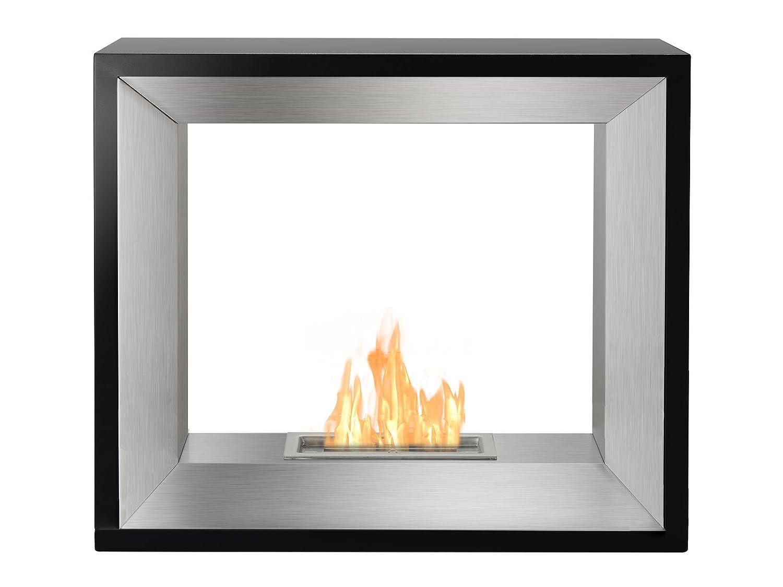 amazon com ignis freestanding ventless bio ethanol fireplace