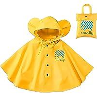 Poncho de lluvia con capucha para niños – Chubasquero impermeable de una sola pieza traje de lluvia portátil para…