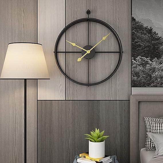 Horloge silencieuse Pour les dormeurs lourds /à la maison ou au bureau Horloge analogique simple /à r/égler Jcobay Accessoires de chambre Grand /écran lumineux R/éveil /à piles Sans tic-tac