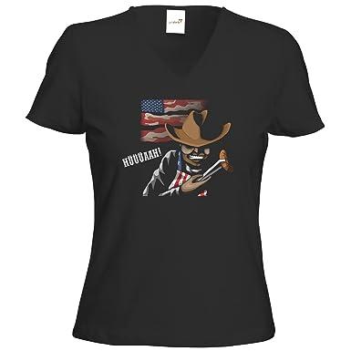 getshirts - Die Grillshow - The Shop - T-Shirt Damen V-Neck -