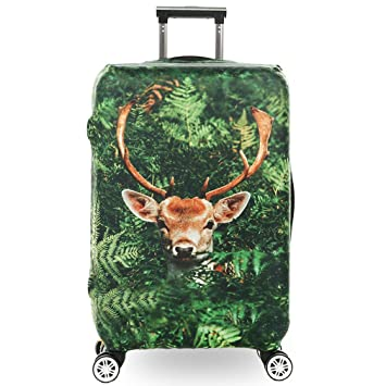 BEDLININGS Fundas para Maletas de Viaje,3D Print Animal Avatar Diseño Travel Trolley Case Cover
