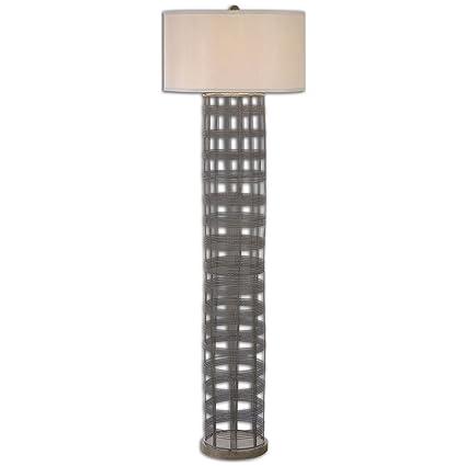 Amazon.com: Uttermost 28256 Engel Metal Wire Floor Lamp: Home & Kitchen