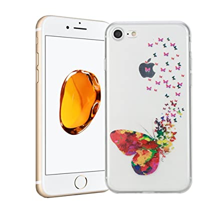 9e4e811c879 Funda iPhone 8 Silingsan Funda de Silicona TPU para iPhone 8 Carcasa  Transparente Soft Clear Case