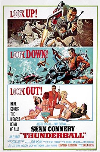 Posters USA - 007 Thunderball James Bond Movie Poster GLOSSY