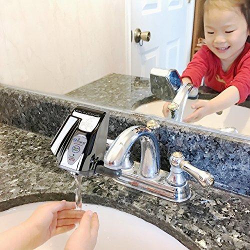 EZ Faucet PRO Automatic Sensor Faucet Adapter for Any Sink Faucet ...
