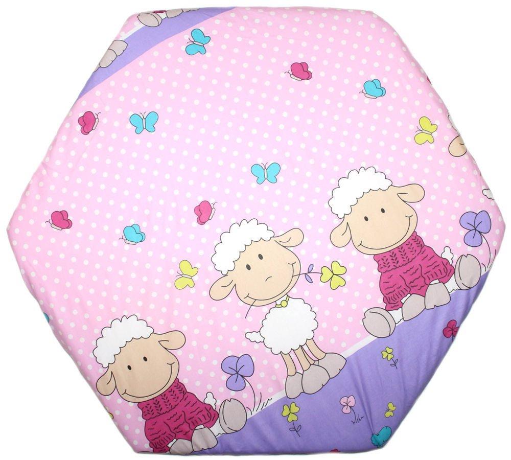 Spannbettlaken Fur 6 Eck Laufgitter Matratze 120x105 Cm Baby Kinder