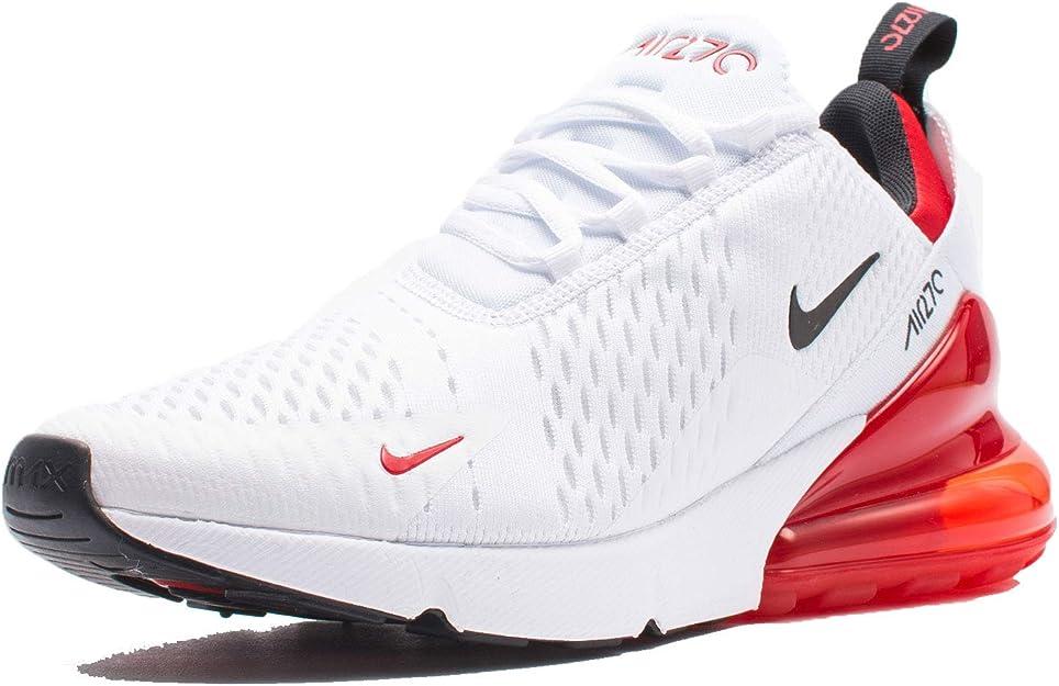 NikeBV2523 100 Nike Air Max 270 Homme Blanc Rouge Bv2523