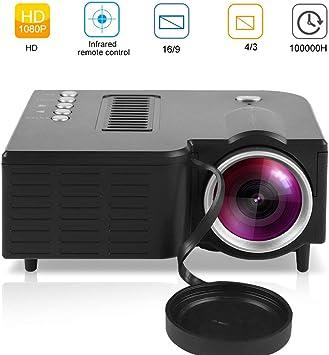 Mavis Laven Proyector Mini 1080P HD Inicio Proyector LED Cine en ...