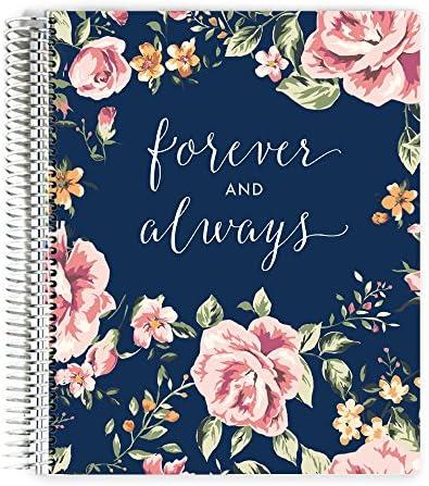 Forever and Always Hochzeitsplaner 6x8 Spiral Book