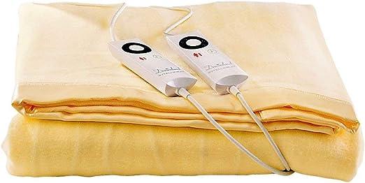 Dreamland Intelliheat Manta eléctrica con Control Dual eléctrica, Doble: Amazon.es: Hogar