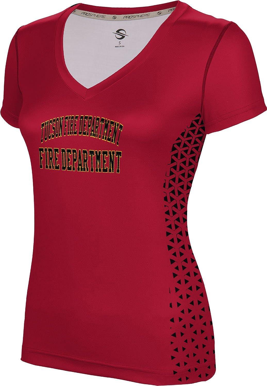 ProSphere Women's Tucson Fire Department Geometric SL V-Neck Training Tee