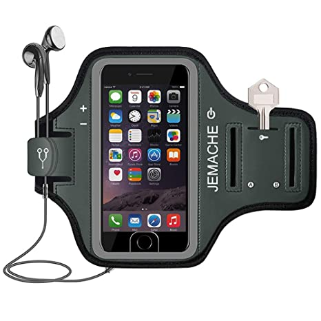 1X Soporte del brazalete Suave Brazalete deportivo para MP3 Telefono movil de 2O