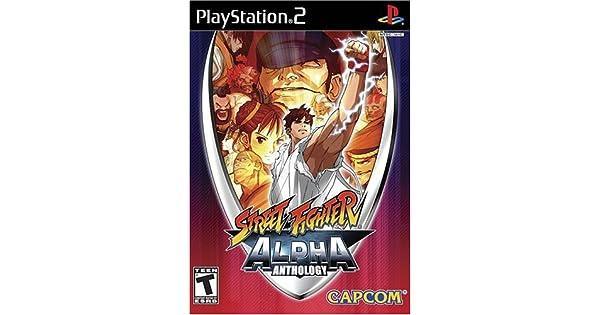 pcsx2 street fighter alpha anthology