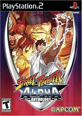 Capcom Street Fighter Alpha Anthology, PS2, ESP PlayStation 2 Español vídeo - Juego (