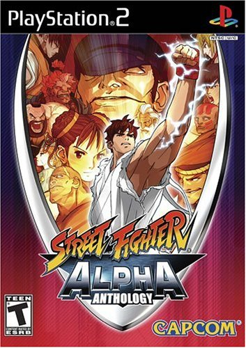 Capcom Street Fighter Alpha Anthology, PS2, ESP PlayStation 2 Español vídeo - Juego (