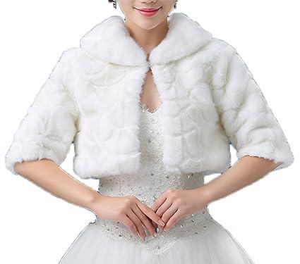 Faux Fur Evening Jackets for Women