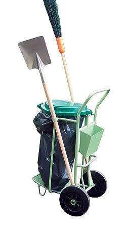 Carrito de limpieza de calles-Soporte para bolsa de basura 110L 14,80 Se