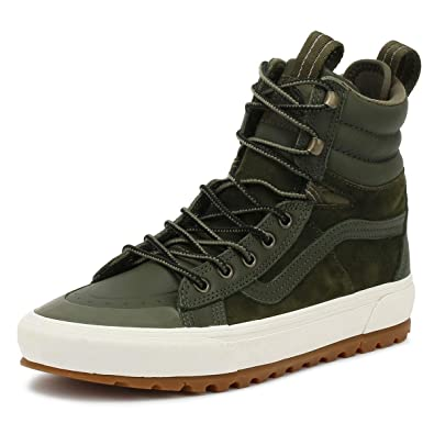 Vans SK8-Hi MTE DX Grape Leaf Green Boots  Amazon.co.uk  Shoes   Bags 0045ff829