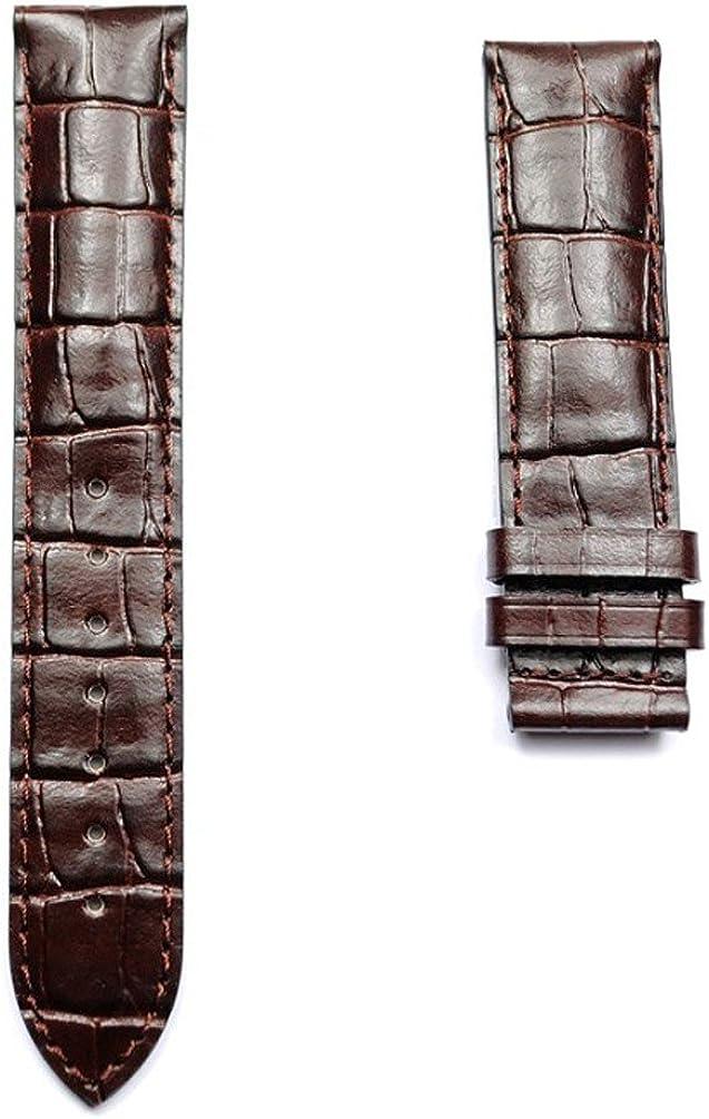 Correa Tissot Piel Marron 19mm para Relojes Le Locle T610014577