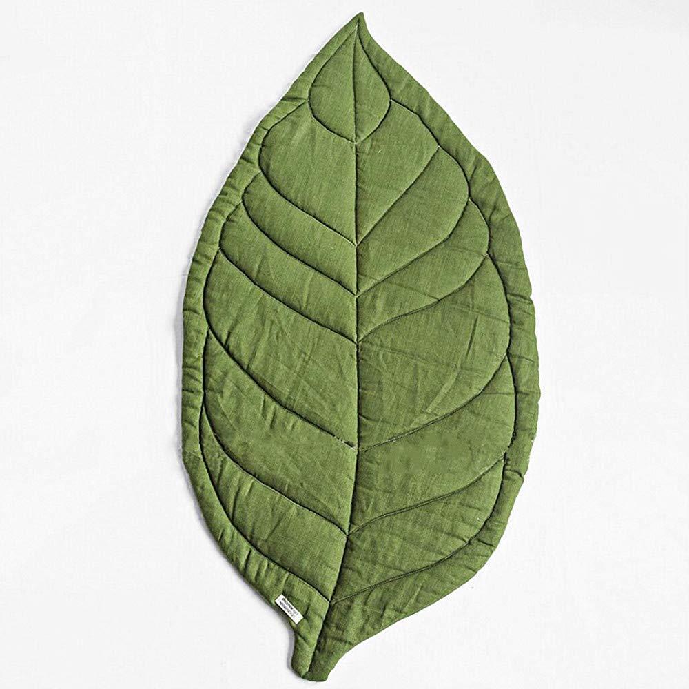 競売 USTIDE Bestever ベビーマット Leaf-green -、Panda、快適なコットンベビープレイマット Bestever - 安全&保護幼児、幼児、子供、37.4インチ Normal Leaf-green B07JLYP688, アルファ:d6eb16b7 --- kilkennyhousehotel.ie