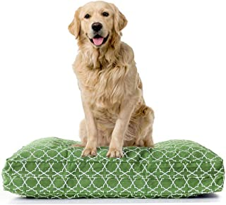 product image for eLuxurySupply Dog Bed Cover Replacement | 100% Cotton Canvas - Pet Bed Zipped for Easy Removal | Washable, Preshrunk & Durable | Fits Orthopedic Memory Foam Dog Bed| Puppy Bed Small, Medium & Large