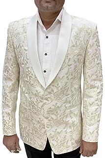 INMONARCH Mens Slim fit Casual Tan Corduroy Blazer Sport Jacket Coat Two Button SB42