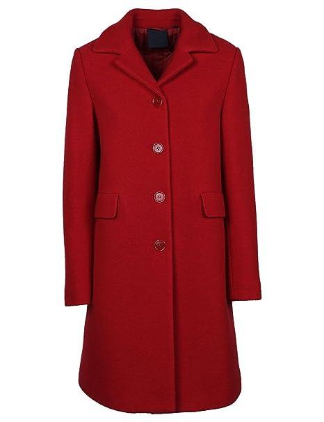 Aspesi - Cappotto - Donna rosso 50  Amazon.it  Abbigliamento 5cc92effd00f