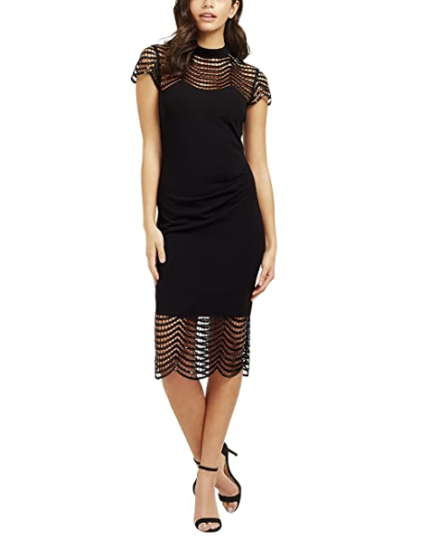 d6acae75770 Lipsy Womens VIP Sequin Lace Shift Dress  Amazon.ca  Clothing   Accessories