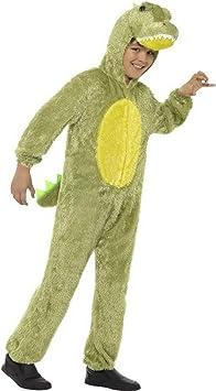Halloweenia Disfraz de cocodrilo de Peluche para niña, Carnaval ...