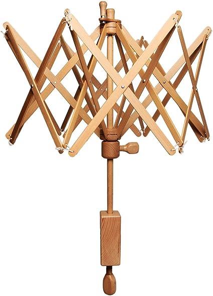 Winder Holder Wooden Swift Yarn Thread Fiber String Wool Umbrella Knitting Tool