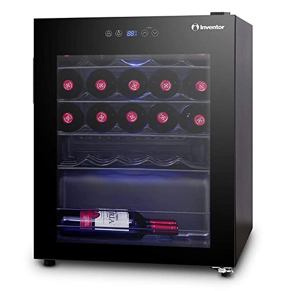 Inventor Vino, Nevera para Vinos con Compresor, 66 litros de ...
