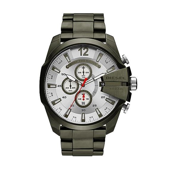 f2ebb4d1e525 Diesel Reloj Cronógrafo para Hombre de Cuarzo con Correa en Acero  Inoxidable DZ4478  Amazon.es  Relojes