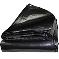 FurnitureShop UK Tissu en plastique imperméable Lona negra