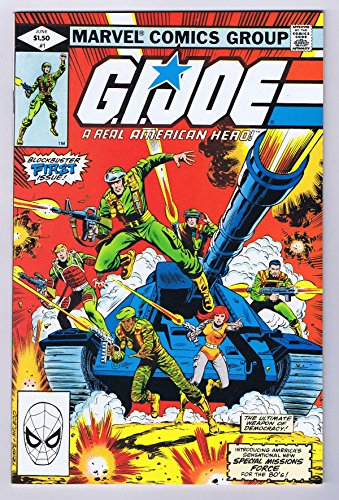 (GI Joe A Real American Hero #1 Marvel Comics 1st Print 1982)
