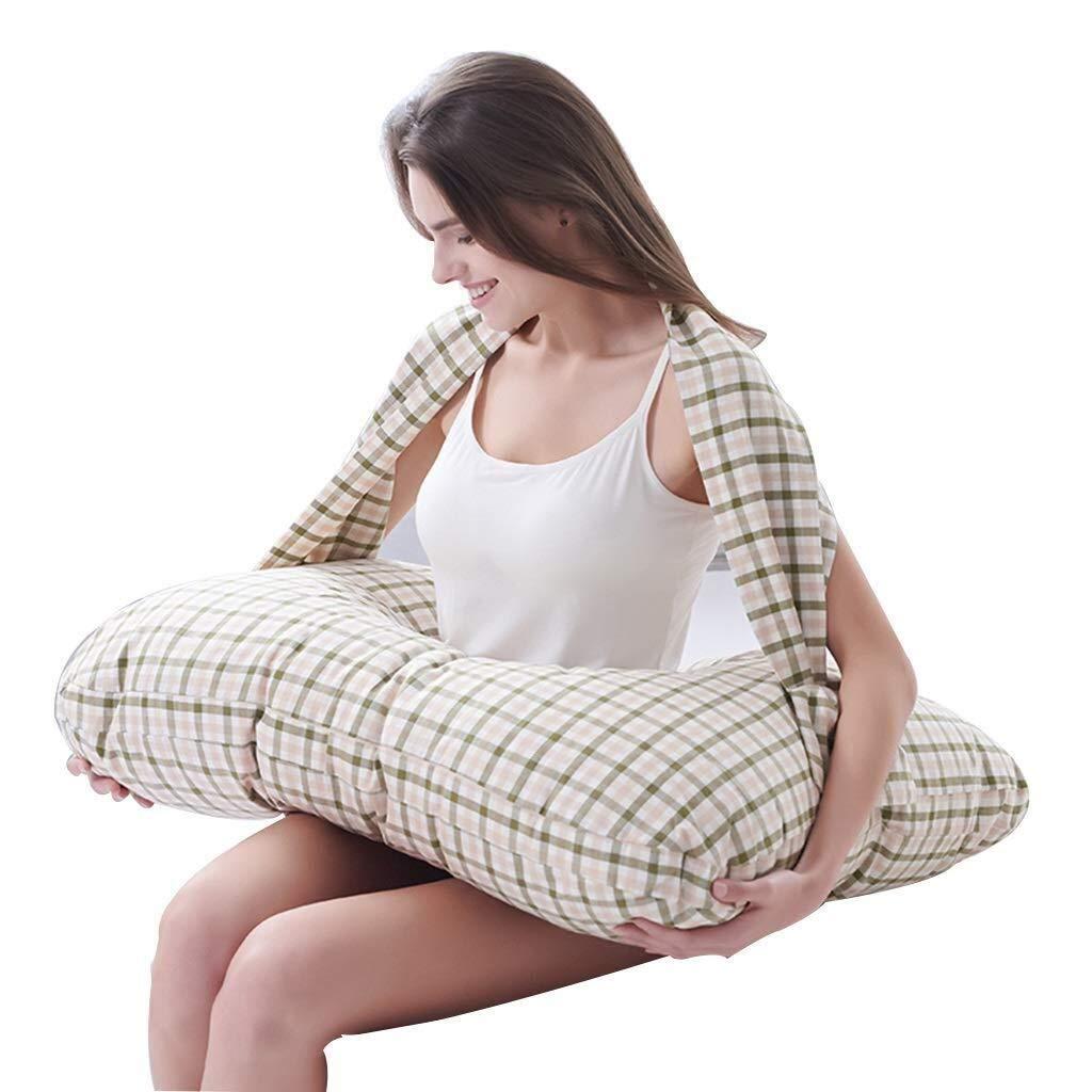 Wyyggnb Nursing Pillow, Breastfeeding Pillows Twin Feeding Pillow Pregnant Woman Pillow Breastfeeding Pad Waist Protector Safety by Wyyggnb