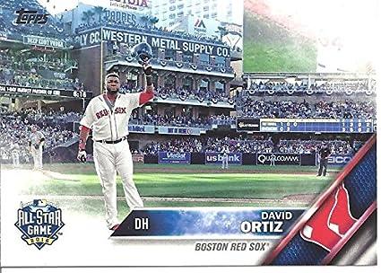 David Ortiz All Star Game Collectible Baseball Card 2016