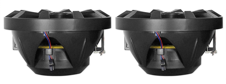Rockville RKL80MB 8 Tower LED Speakers For Polaris RZR//ATV//UTV//Cart//Jeep 2