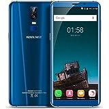 "KOOLNEE K1 Smartphone, 6.0 "" FHD Display (proporzione 18: 9) Android 7.0 4G Telefono Cellulari, MTK6750T Octa Core 1.5GHz, 4GB RAM + 64GB ROM, 16MP/2MP Dual Rear Camera, Dual Sim, Fingerprint Recognition, WiFi/GPS/OTA Cellulare - Blu"