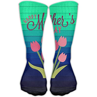 Design Happy Mother's Day Fashion Art Boots Sock For Women &Girl