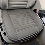 Four Seasons General Pu Leather Bamboo Charcoal Breathable Comfortable Car Interior Seat Cushion Cover Pad FOR Car Office Home Use