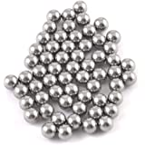 SODIAL(R) 60 Pcs 4mm Dia Bicycle Steel Bearing Ball Replacement