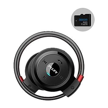 ... auriculares Bluetooth, CSR4.1 cancelación de ruido HI-FI plegable estéreo inalámbrico auriculares de apoyo todos los teléfono móvil: Amazon.es: ...
