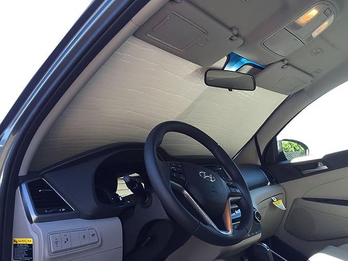 Heat Shield Blue Sun Shade Fits 2016 2017 Hyundai Tucson