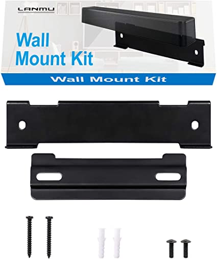 Amazon Com Lanmu Wall Mount Kit For Bose Solo 5 Sound Bar Replacement For Bose Wb 120 Wall Mount Black