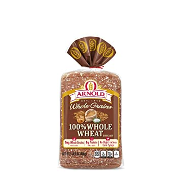 Arnold Whole Grains 100% Whole Wheat Sliced Bread, 24 Oz