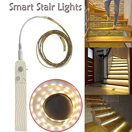 Amazoncom Transer Motion Sensor Led Stair Lights Detect Your