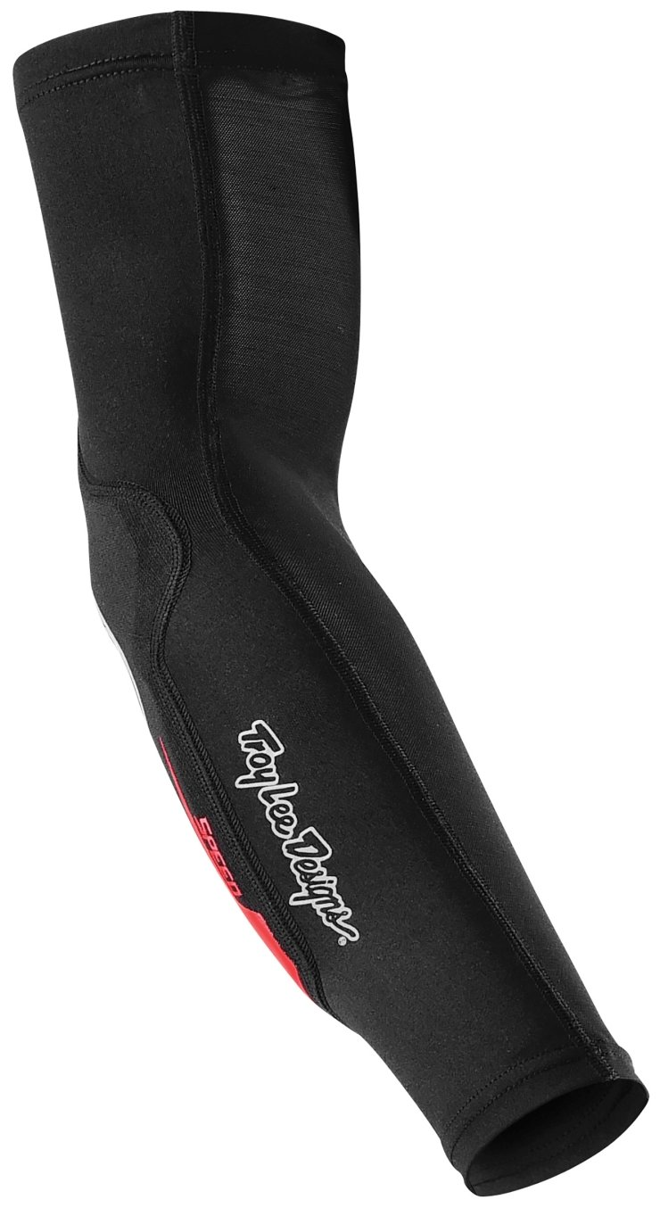 Troy Lee Designs Speed Elbow Guards Solid Black, XS/S